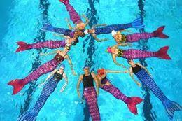 Mermaid Swimming Class, Austin, Texas