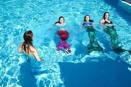 Mermaid Swimming Class, Austin, Texas